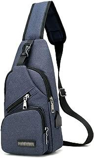 FUOE Sling Bag Crossbody Bag Shoulder Chest Back Pack Anti Theft Travel Bags