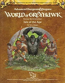 Isle of the Ape (World of Greyhawk Module WG6) (Advanced Dungeons & Dragons) - Book  of the Advanced Dungeons and Dragons Module #C4
