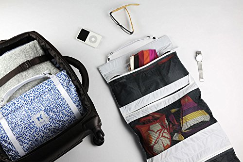 Origami Unicorn TUO -Travel Undergarment Organizer - New Packing Solution (Blue Leaf Special Edition)
