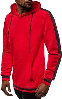 Men Hoodie,Men Couple Jumper Sweater Warm Solid Zipper Pullover Stand Collar Sweatshirt Long Sleeve Sport Outdoor Coat Out...