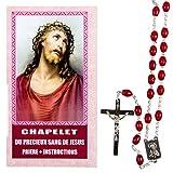 Chapelet du précieux Sang Symbole de la Foi du chrétien