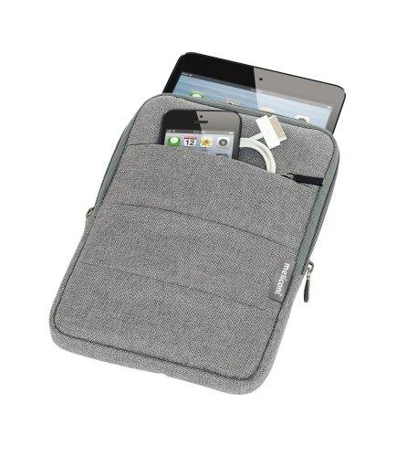 Meliconi Traveller Sleeve Custodia Universale per Tablet fino a 8 , Argento