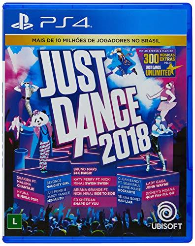 Just Dance 2018 - PS4 - Region Free - English/Portuguese
