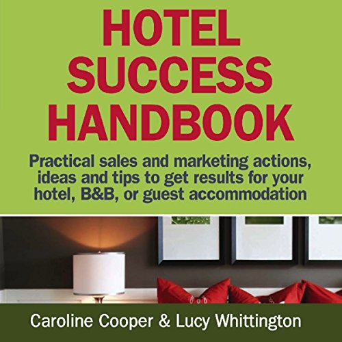 Hotel Success Handbook audiobook cover art