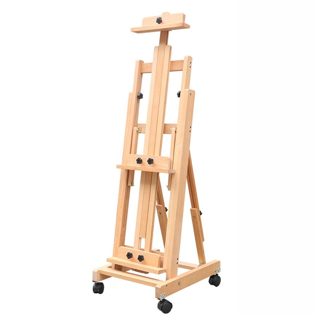 Caballetes Escala de caballete de nivel vertical Uso dual de madera Tipo de soporte Pintor de caballete de bosquejo (Color : Natural color): Amazon.es: Oficina y papelería