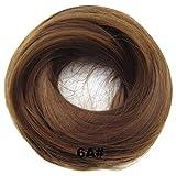 PrettyWit Scrunchie Scrunchy Bun Up Hair Piece Ribbon Ponytail Extensions Wavy Curly-6A