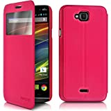 Seluxion-Function Stand Case Fuchsia Pink for Wiko Slide