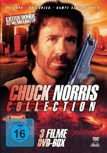 Chuck Norris - 3 Filme DVD Box