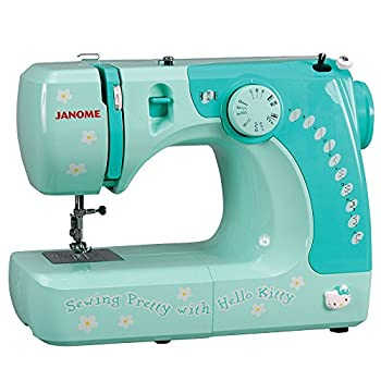 Hello Kitty Sewing Machine by Janome – 17″ x 9″ x 14″\