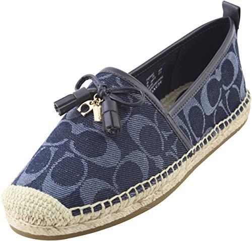 COACH Carson Espadrille Shoes Denim Size 7