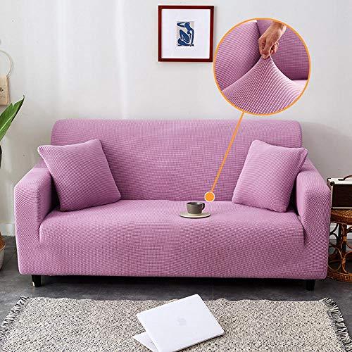 ARTEZXX Sofa Cover 1/2/3 Seater All Inclusive Verdikte Maïs Fleece Slipcover met Elastische Band, Wasbare Bank Meubelbescherming Voor woonkamer slaapkamer