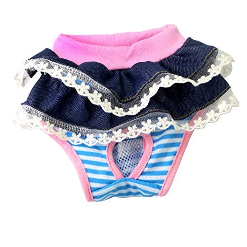 Pantalones de pañales para perros Shorts fisiológicos Calzoncillos de ropa interior sanitaria
