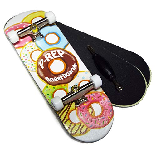 P-REP Starter Complete Wooden Fingerboard 30mm - Dohnuts