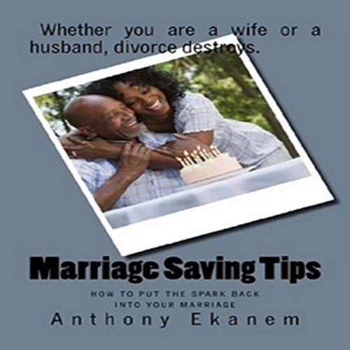 Marriage Saving Tips audiobook cover art