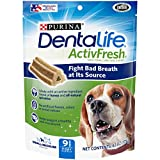 Purina DentaLife Small/Medium Breed Dog Dental Chews,...