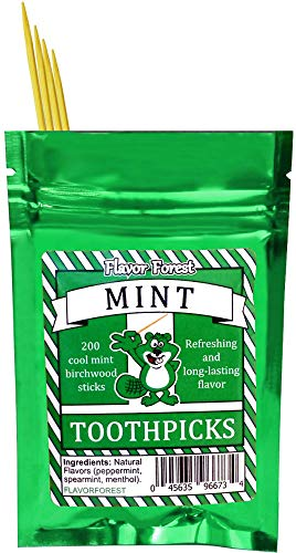 Mint Flavored Toothpicks 200ct