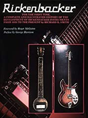 """256 pages Size: 12"""" x 9"""" Composer: Richard Smith ISBN: 931759153 Rickenbacker collectors will find this book invaluable as it contains recently discovered accurate facts previously unavailable to researchers"""