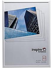 Hampton Frames EasyLoader Blanco a3 30x42 cm Certificado Foto Marco de Seguridad plexi Vidrio Abertura de la Imagen de Apertura easa3whp