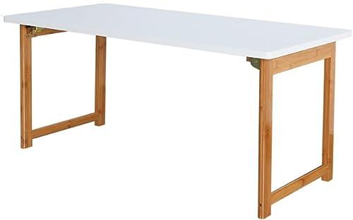 garantizado Mesa Plegable Mesa de Comedor de de de la Mesa de té de la Mesa de Centro de la Mesa de Centro de la Mesa de café de bambú nórdico (Tamaño  blanco 48  100  45 cm)  Precio al por mayor y calidad confiable.