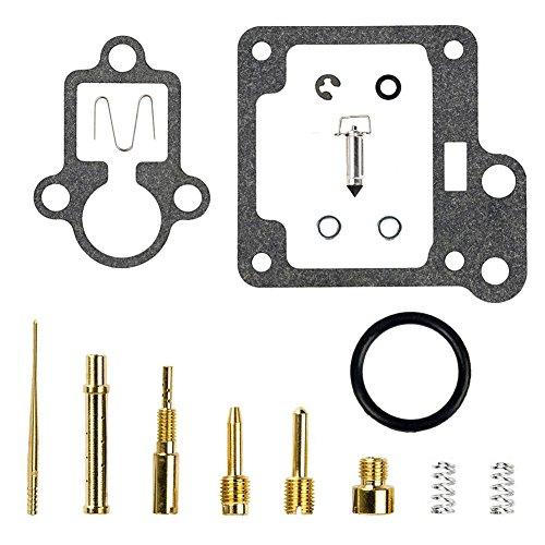 QAZAKY Replacement for Carburetor Rebuild Kit Yamaha Raptor Badger Moto-4 80 YFM80 YFM80R YFM80W Carb Repair Set