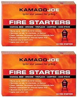Kamado Joe KJFS Fire Starters - 24 Count - 2 Pack