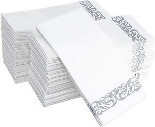 100 قطعة مناديل منشفة للاستعمال مرة واحدة مناديل ورقية نظيفة للمطبخ مناديل ورقية للتنظيف
