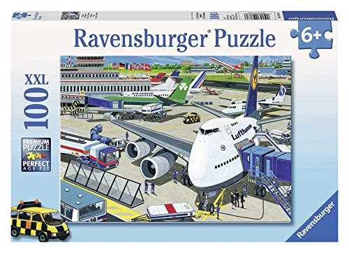 Ravensburger Puzzle - Super 100 (Pcs.) Airport