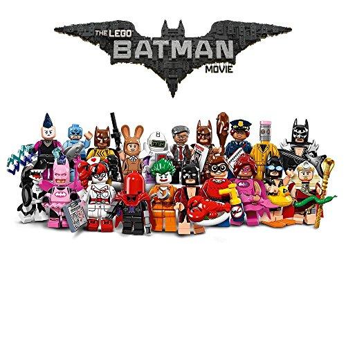 LEGO Serie Completa THE BATMAN MOVIE 20 Personaggi FIGURE Mini Figures 71017