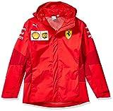 PUMA Mens Formula 1 Scuderia Ferrari Team Softshell Jacket, Rosso Corsa-without MW Logo, L
