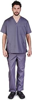 Natural Uniforms Comfortable Fit Men's Workwear Uniform 8 Pocket Top and Pant Set