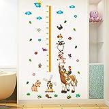 宝宝 儿童房 宿舍 贴纸 卡通 牧场 动物 身高贴 幼儿园 学校 墙面 装饰品 贴画