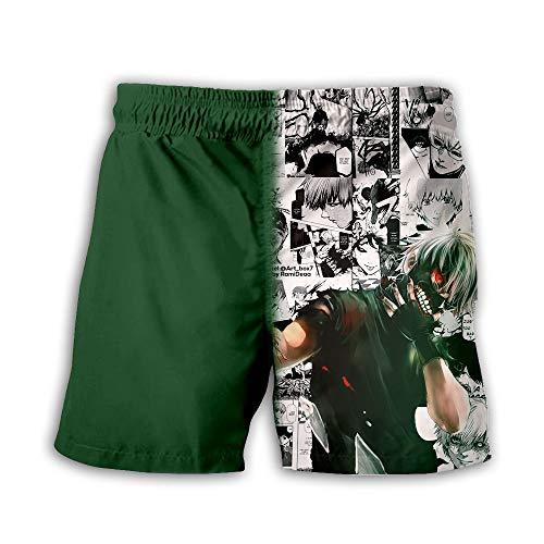 NIEWEI-YI Hombre Bañador Shorts 3D Playa Natacion...