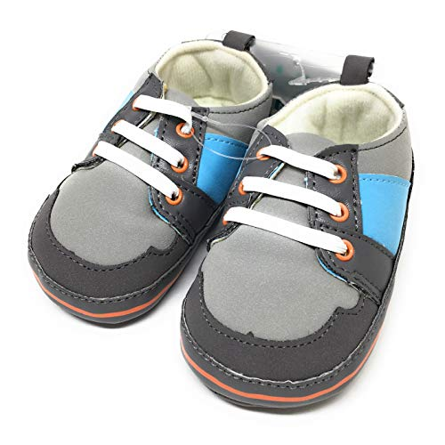 Child of Mine by Carters Newborn Baby Boy Retro Sneakers (3-6 M)