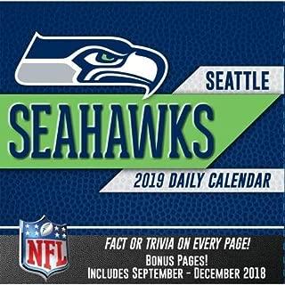2019 SEATTLE SEAHAWKS 365 Page-A-day DAILY CALENDAR/Desk Calendar