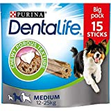 DENTALIFE Medium Dog Chew 45 Sticks, 3x345g