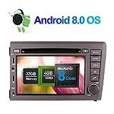 7 pollici Octa Core 4G+32G 2 Din In Dash Autoradio Lettore DVD Navigatore GPS con schermo touch screen bluetooth vivavoce per Volvo S60/V70 2001-2004 supporto 3G 4G Wifi DAB+ Ingresso telecamera