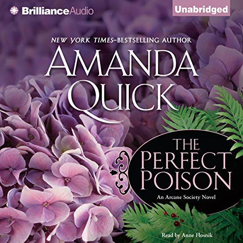 The Perfect Poison audiobook cover art