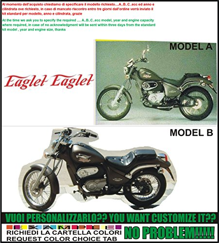 Emanuel & Co Kit adesivi Decal stikers GILERA Eaglet (Geben Sie Model A oder B)