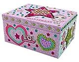 L.O.L. Surprise! Boîte à Bijoux pour Fille Coffret pour Bijou Activité Créatif Glitterati Series Confetti Pop