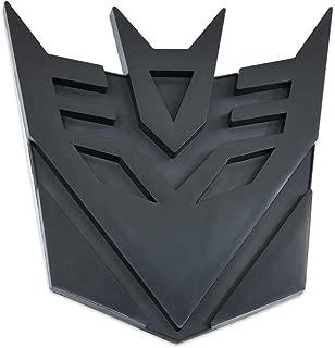 Transformer Decepticon Black Finish Auto Emblem - 5