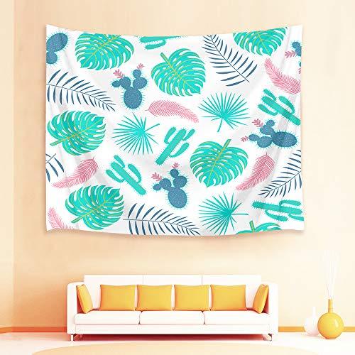 mmzki Tapiz de Toalla de Playa nórdico Flor de árbol de Cactus 29 150x100cm