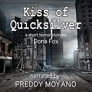 Kiss of Quicksilver audiobook cover art
