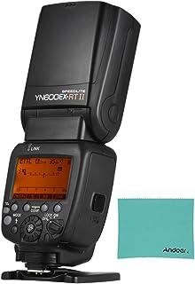 Yongnuo Yn600Ex-Rt Ii Maestro Ttl Speedlite 2.4G Inalámbrico 1/8000S Hss Gn60 ApoyoAuto/Manual Zoom para Canon 600Ex-Rt Yn6000 Ex Rt Ii