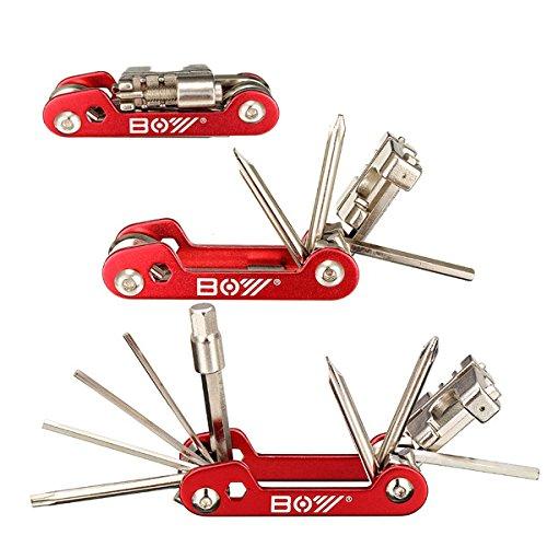 MXBIN Juego de Destornilladores for Herramientas de reparación de Bicicletas múltiples 11...