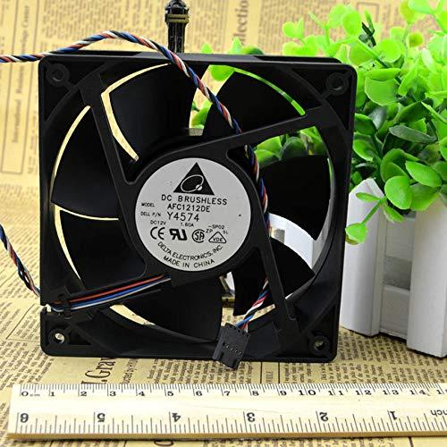 AFC1212DE 12038 12V 1.6A 12CM violent large air volume 4wire pwm temperature control fan