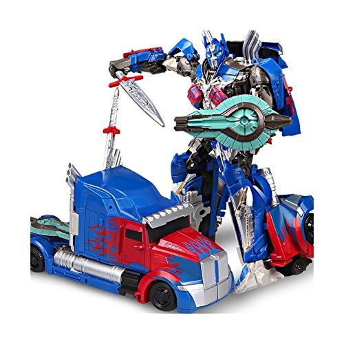 NOLO Transformación Robot Optimus Movie Anime Figura Modelo Deluxe Juguetes Acción para niños Mejor Educación Juguetes Regalo