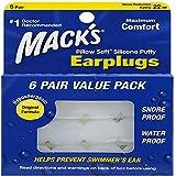 Mack'S - Tapones para los oídos de mack, tapones de silicona para piscina