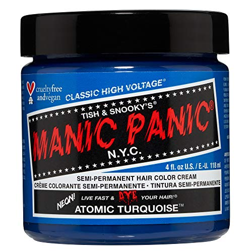 Manic Panic High Voltage Classic Semi-Permanente Haarfarbe (Atomic Turquoise)