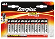 Energizer Max Alkaline AAA, 12 Pack