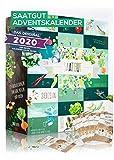 Saatgut Adventskalender - 24 Sorten Gemüse, Kräuter und Obst für den Garten